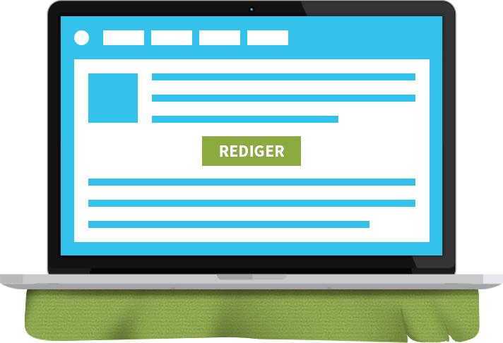 Hjemmeside program - bedre kendt som et CMS system. Det der styrer alt indhold på siden.