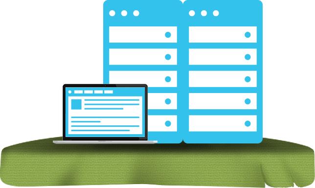 Webhotel og webhosting inkl. support på tekster og billeder